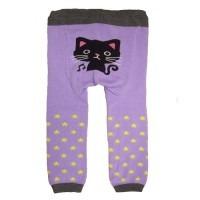 Legging bébé Chat violet