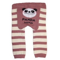 Leggin Panda Beige Rayé