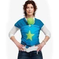Echarpe de portage BYKAY Bleu/Vert