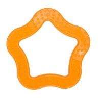 Anneau de dentition Etoile orange
