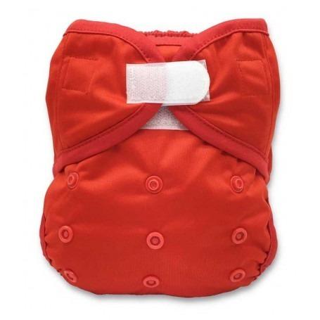 Culotte imperméable Velcros Rouge