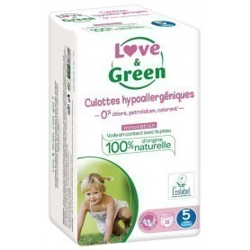 Love & green - 18 Couches d'apprentissage (T5) - 12/25kg