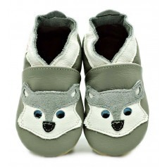 Chaussons cuir souple Husky