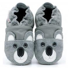Chaussons cuir souple Koala