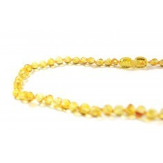 Collier d'ambre Lemon