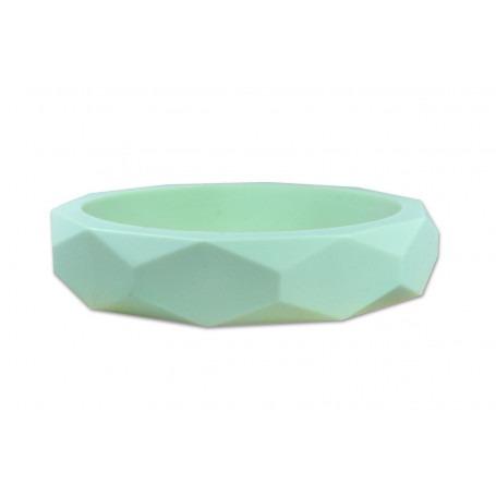 Bracelet géométrique vert