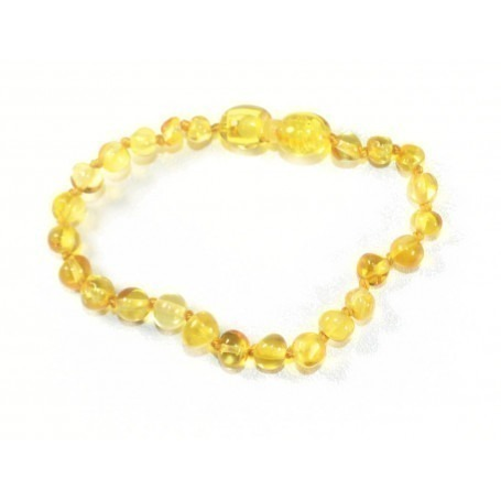 Collier d'ambre Lemon