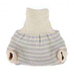 Culotte shorty en laine tricotée - Popolini