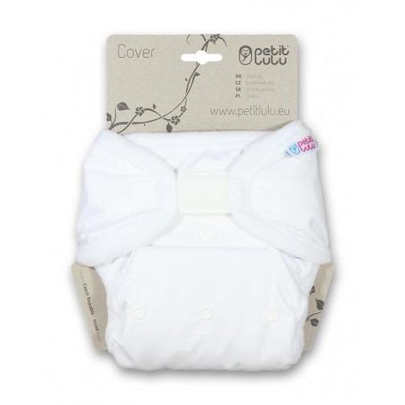 Culotte pour couche lavable blanche