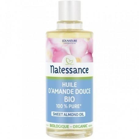Huile Amande Douce Bio Natessance - 50 ml