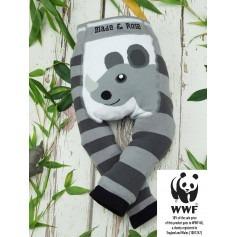 Legging bébé coton bio WWF Rhino - Blade & Rose