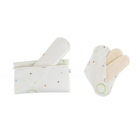 Lot de 2 protections fémines lavables Bio Popolini