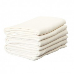 Lot de 5 Langes mousseline coton bio - Disana