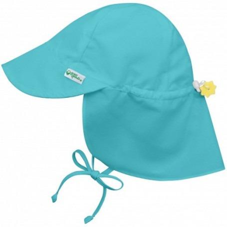 Chapeau Saharienne anti UV Aqua
