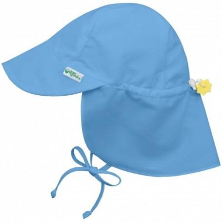 Chapeau Saharienne anti UV Bleu