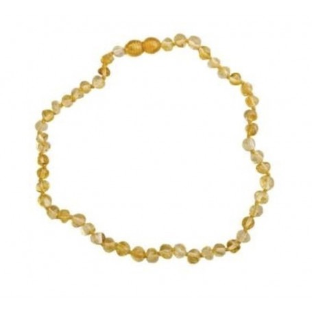 Collier d'ambre baltique Clair
