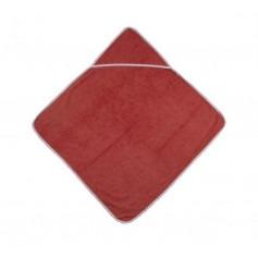 Serviette de bain pour bébé Rouge - Popolini