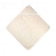 Cape serviette de bain Bio écru