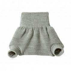 Culotte shorty Gris en laine mérinos bio - Disana