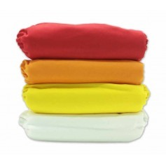 Pack de 4 couches lavables TE1 Pressions - Sunny Pocket