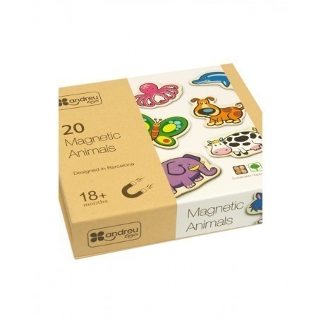 Magnets Animaux Premier Age - Andreu Toys