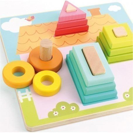 Puzzle maison Premier Age - Andreu Toys