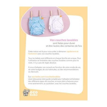 Guide d'utilisation et d'entretien des couches lavables