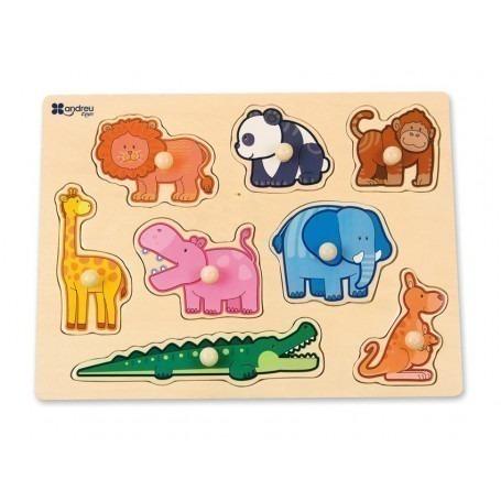 Puzzle Animaux - Jouet bébé bois