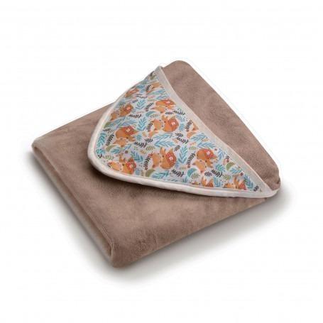 Serviette de bain bébé tablier cocoon - Neobulle