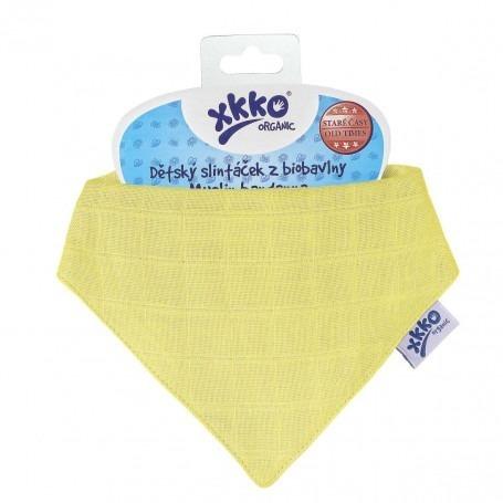 Bavoir bébé en mousseline de coton bio - XKKO