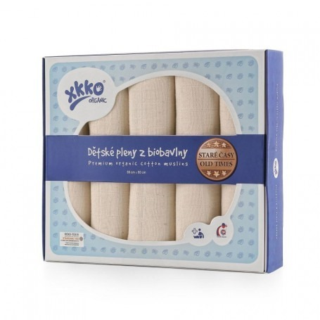 Lot de 5 langes Cotton Biologique - XKKO