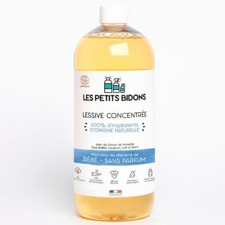Lessive liquide Bébé made in France - Les Petits Bidons