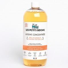 Lessive liquide Fleurs Blanches made in France - Les Petits Bidons