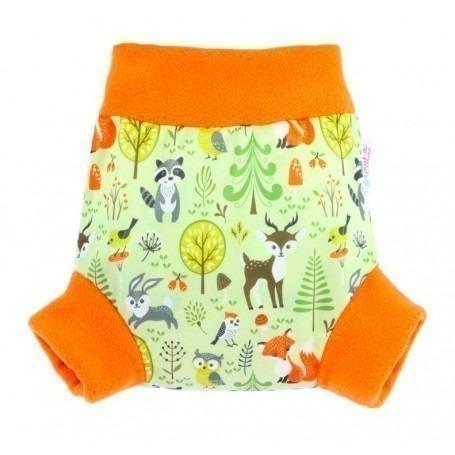 Culotte imperméable shorty Animaux de la forêt - Petit Lulu