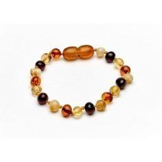 Bracelet d'ambre bébé - Multicolore
