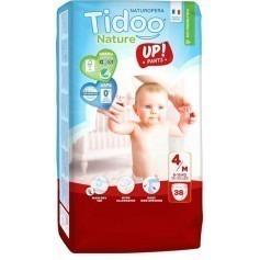 1 Paquet TIDOO - 38 Couches-culottes Stand up (T4) - 8/15 kg