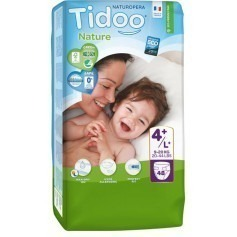 1 Paquet TIDOO - 48 Couches (T4+) - 9/20kg
