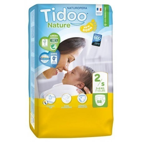 1 Paquet TIDOO - 64 Couches (T2) - 3/6kg