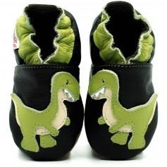 Chaussons cuir souple T-Rex