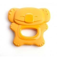 Anneau de dentition bébé bioplastique - Orange - ekoala