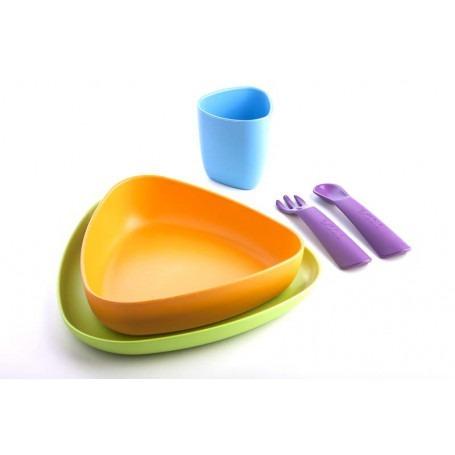 Set de repas bébé complet Version 1 - ekoala