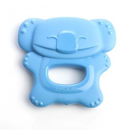 Anneau de dentition bébé bioplastique - Bleu - eKoala