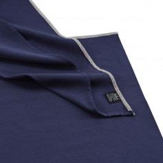Echarpe de portage tissée coton bio - Bleu Frégate - Neobulle