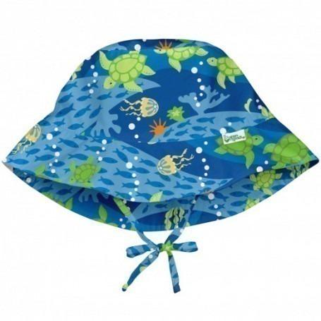 Chapeau bob anti UV Tortue