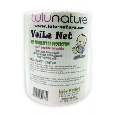 Rouleau de 100 voiles de protection compostables - Lulu Nature