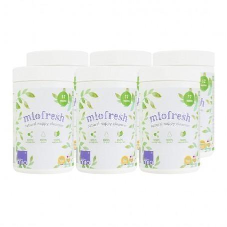 Pack de 6 Miofresh antibactérien couches lavables - Bambino Mio