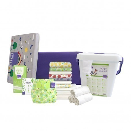 Pack Couches TE2 Mioduo Panier Fruité - Taille 1 (-9kg) - Bambino Mio