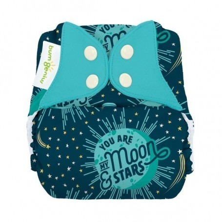 Couche lavable enfant TE1 de 15 - 32 kg - My Moon - BumGenius Big