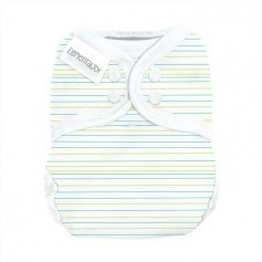 BumGenius Elemental Joy Pocket (pression) - Mirror Stripe