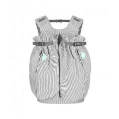 Porte bébé jumeaux physiologique Weego Twin - Gris